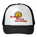 The time? Time you were leaving! Mesh Hat
