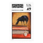 The Timekeeper Postage Stamp