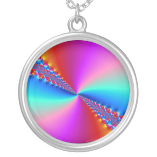 The Timeless Time Tunnel Round Pendant Necklace