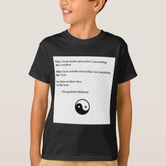 The timeless wisdom of Nisargadatta Maharaj T-Shirt