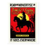 The Times 1920 de Cuba Postales