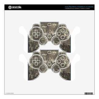 The Times' by William Hogarth PS3 Controller Skins