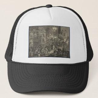 The Times' by William Hogarth Trucker Hat
