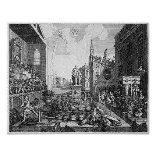 The Times, Plate II Poster