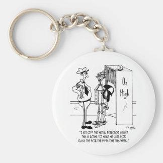 The Tin Man at Oz High Keychain