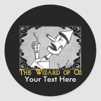 The Tin Man Customize It! Classic Round Sticker