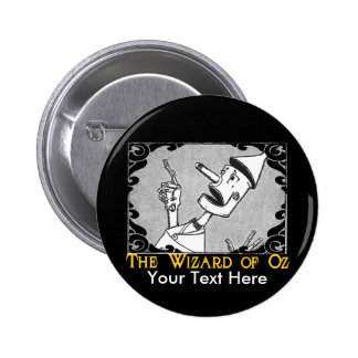 The Tin Man Customize It! Pinback Button