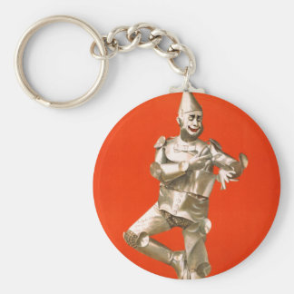 The Tin Man from The Wizard of Oz Keychain