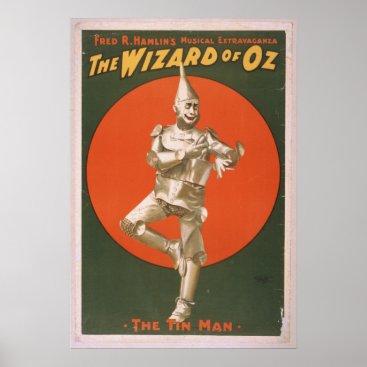 angelandspot The Tin Man Vintage Musical Poster