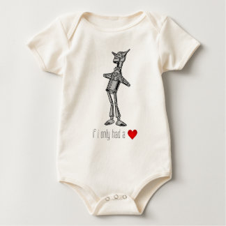 "The Tin Woodsman ""If I Only Had a Heart"" Bodysuit"