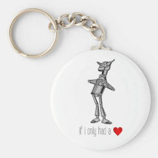 "The Tin Woodsman ""If I Only Had a Heart"" Keychain"