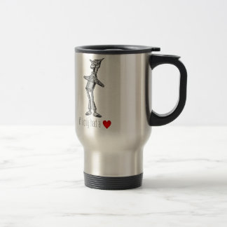 "The Tin Woodsman ""If I Only Had a Heart"" Travel Mug"