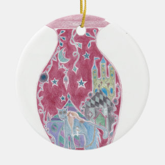 The Tinderbox: Faerie Tale Bottle Series Ceramic Ornament