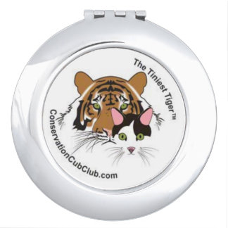 The Tiniest Tiger Compact Mirror