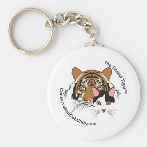 The Tiniest Tiger Conservation Cub Club Keychain
