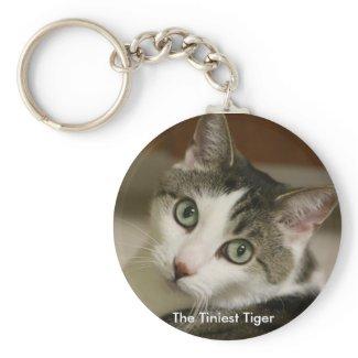 The Tiniest Tiger Keychain keychain