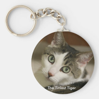 The Tiniest Tiger Keychain