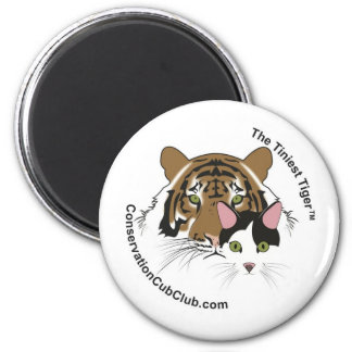 The Tiniest Tiger Logo Magnet