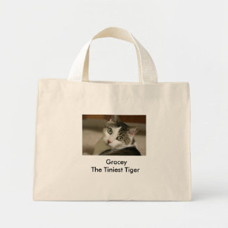 The Tiniest Tiger Natural Tote Mini Tote Bag