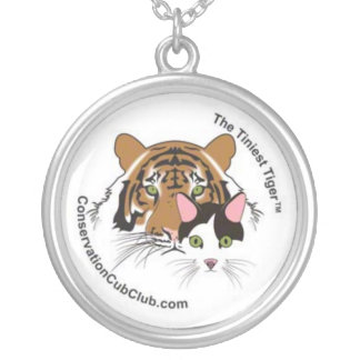 The Tiniest Tiger's Conservation Cub Club Round Pendant Necklace