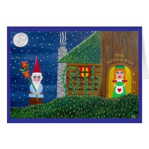 The Tinkers Gnome Note Card