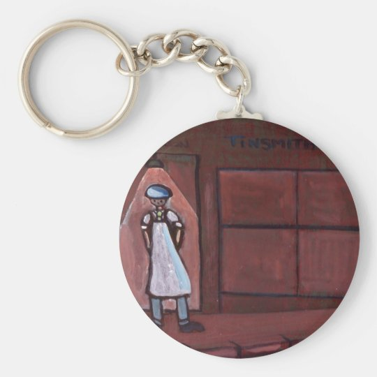 THE TINSMITH KEYCHAIN