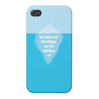 The tip of the Iceberg Quote iPhone 4/4S Cases