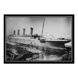 The Titanic been constructed 1909 Poster