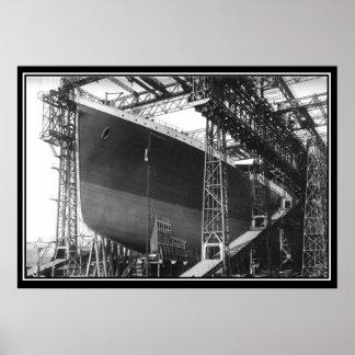 The Titanic series Poster Building of Titanic