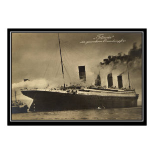 Titanic Maiden Voyage Posters & Photo Prints | Zazzle