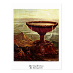 The Titan'S Goblet. By Thomas Cole Post Cards