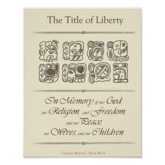 The Title of Liberty Poster