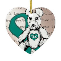 The TLC Project Ceramic Ornament
