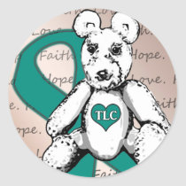 The TLC Project Classic Round Sticker