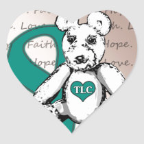 The TLC Project Heart Sticker
