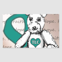 The TLC Project Rectangular Sticker