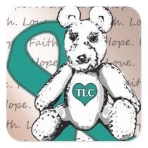 The TLC Project Square Sticker