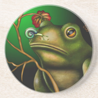 The Toad And The Snail II Drink Coaster