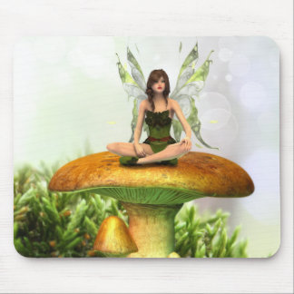 The Toadstool Fairy Mouse Pad