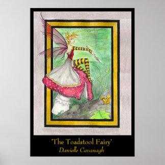 'The Toadstool Fairy' Print