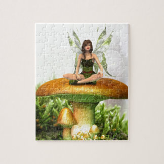 The Toadstool Fairy Puzzle