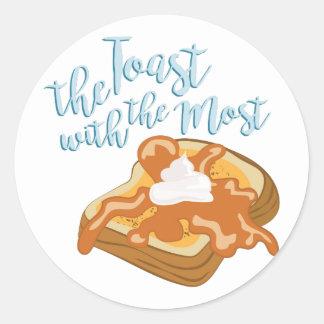 The Toast Classic Round Sticker