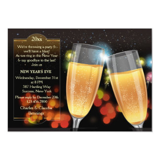 The Toast New Year's Eve Party Invitation