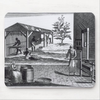 The Tobacco Manufactory in Different Branches Mouse Pad