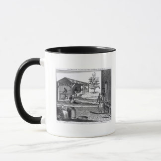The Tobacco Manufactory in Different Branches Mug