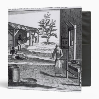The Tobacco Manufactory in Different Branches Vinyl Binders