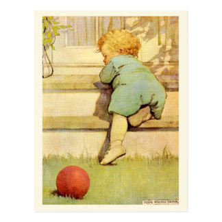 The Toddling Baby Boy Postcard