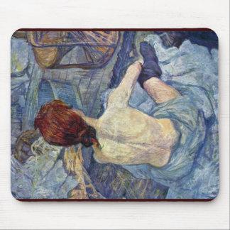 The Toilet,  By Toulouse-Lautrec Henri De Mouse Pad