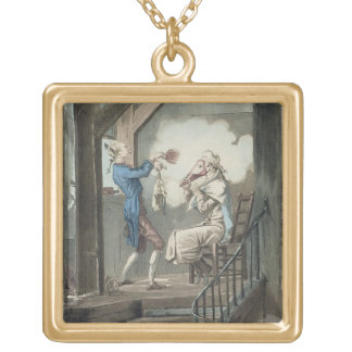 gold plated toilet seat. The Toilet of an Attorney 39 s Clerk  engraved by Phi Gold Plated Necklaces Lockets Zazzle