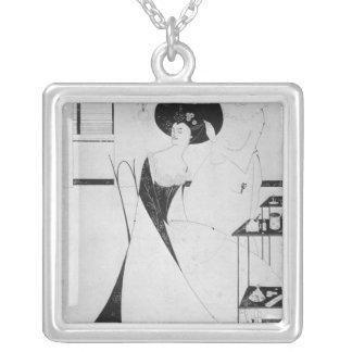 The Toilet of Salome Silver Plated Necklace